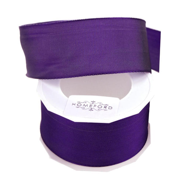 Taffeta Wired Ribbon, Made in Germany, 1-1/2-Inch, 10 Yards, Iridescent Purple