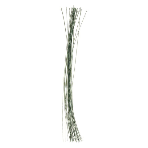 Aluminum Floral Wire, Green, 26 Gauge, 18-Inch, 40-Count