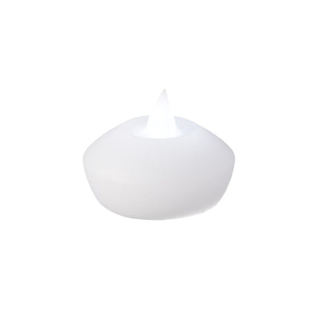 Flameless LED Floating Candles, 2-Inch, 2-Count