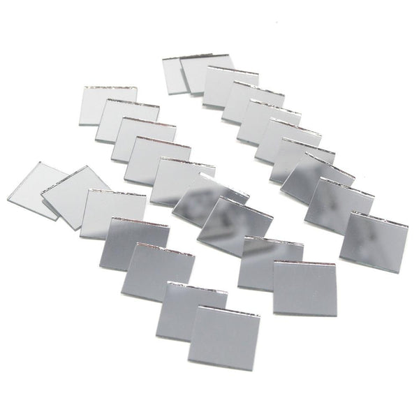 Square Mirror Table Scatter, 3/4-Inch, 25-Count