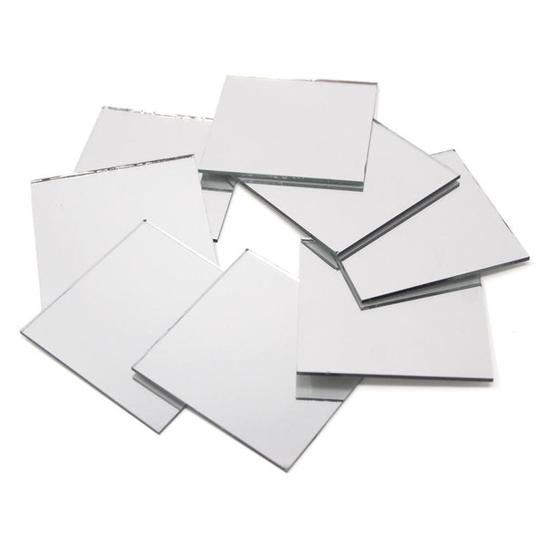 Square Mirror Table Scatter, 2-Inch, 8-Count