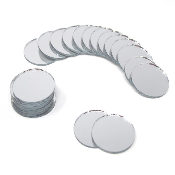 Round Mirror Table Scatter, 3/4-Inch, 25-Count