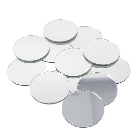 Round Mirror Table Scatter, 1-1/2-Inch, 12-Count