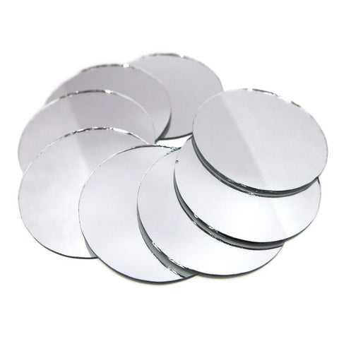 Round Mirror Table Scatter, 2-Inch, 8-Count