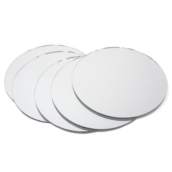Round Mirror Table Scatter, 3-Inch, 5-Count