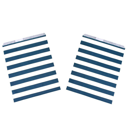Striped Patterned Treat Bags, 7-1/4-Inch, 8-Count