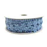 Polyester Flower Garland Ribbon, 3/8-Inch, 25-Yard