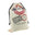 Christmas Express Delivery with Flying Reindeer Santa Sack, Ivory, 27-Inch x 19-Inch