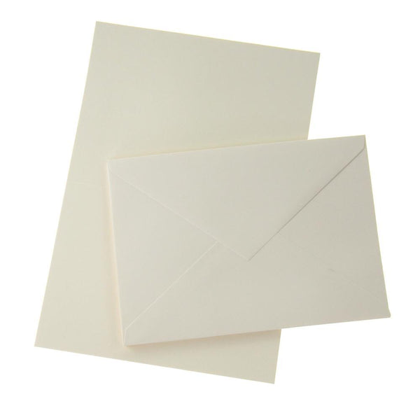 Blank Invitations Envelopes, Cream, 5-7/8-Inch, 6-Count