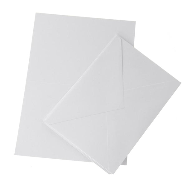 Blank Invitations Envelopes, White, 5-7/8-Inch, 6-Count