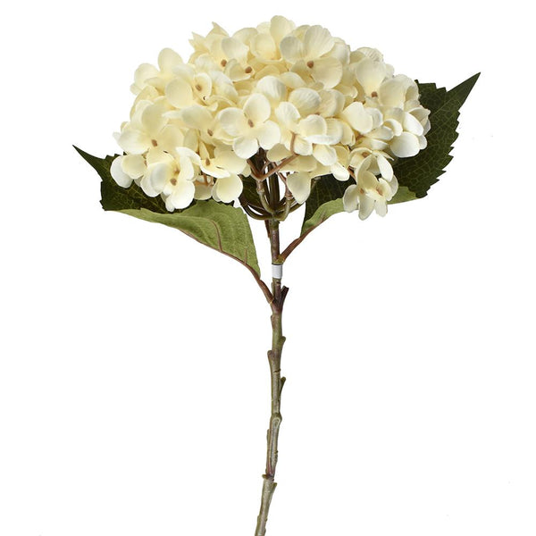 Artificial Hydrangea Spray, 20-1/2-Inch, Beige