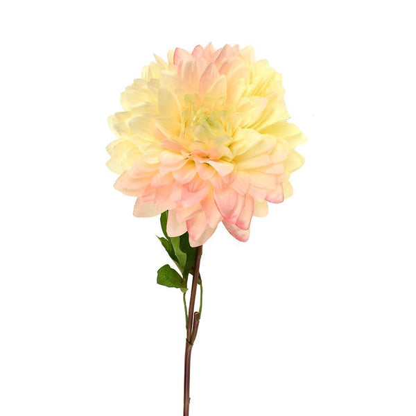 Artificial Dahlia Flower Spray, 27-1/2-Inch
