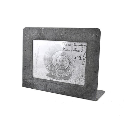 Horizontal Picture Frame, Gray, 4-Inch x 6-Inch