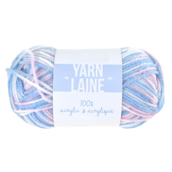Multi-Dyed Acrylic Yarn Bundle, 115-Yard, Baby