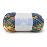 Multi-Dyed Acrylic Yarn Bundle, 115-Yard