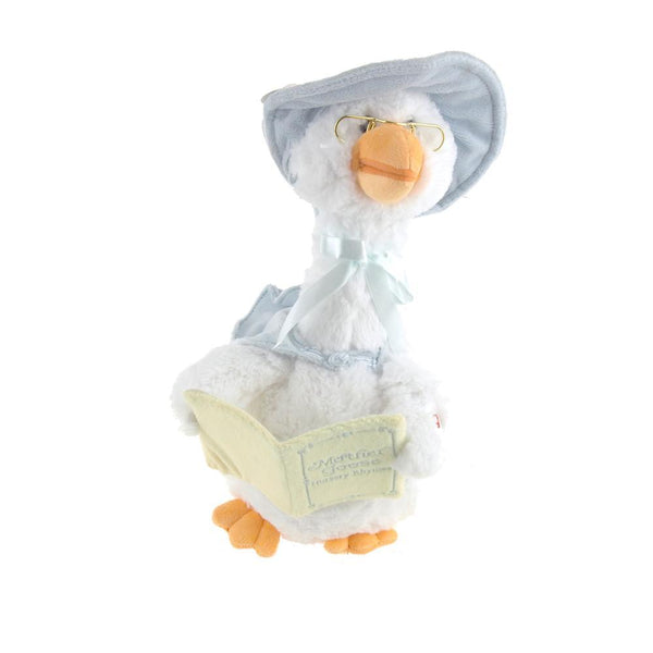 Singing Mother Goose, 15-Inch, Blue