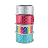 Mermaid Scales Laser Printed Ribbon, 1-1/2-Inch, 10-Yard