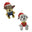 Mini Plush Paw Patrol Ornaments, 6-Inch, 2-Piece