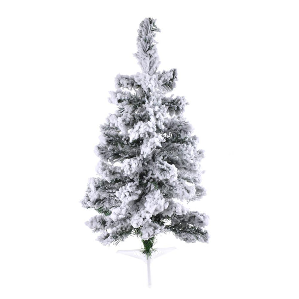 Artificial Snow Flocked Christmas Tree, 2-Feet