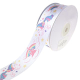 Dreamy Unicorn Satin Ribbon, 1-1/2-Inch, 10-Yard