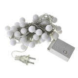 Christmas String Fairy Light Bulbs, 50 LED