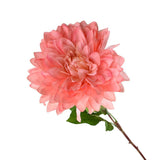 Artificial Dinner Plate Dahlia Spray, 27-1/2-Inch