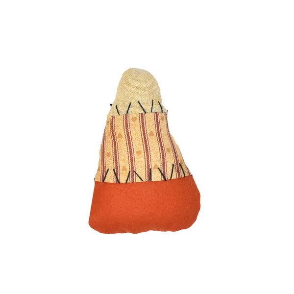 Candy Corn Plush Decor, 4-1/2-Inch