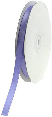 Double Face Satin Ribbon, 1/4-Inch, 50-Yard, Iris