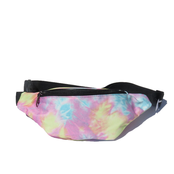 Tie-Dye Fanny Pack in Pastel Colors