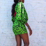 Neon Skirt/Top Set