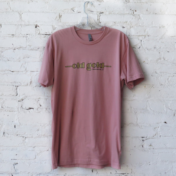 Old Gold T-shirt (pink)