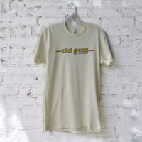 Old Gold T-shirt (cream)