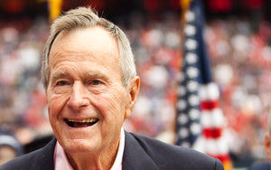 PRESIDENT GEORGE H W BUSH -- STEPS WELL TAKEN