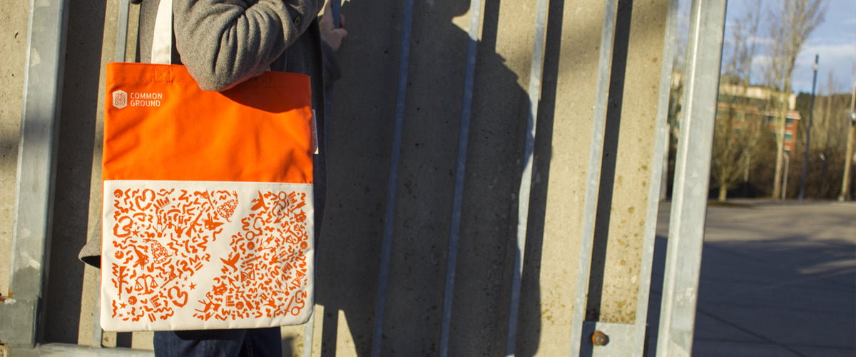Common Ground Bags | Reading Tote | Gun Violence | Stand For Progress