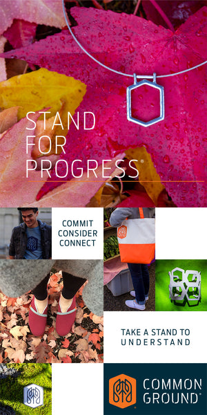 Common Ground Footwear Apparel Jewelry Bags | Portland Oregon USA | Stand for Progress