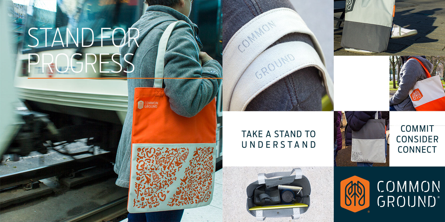 Common Ground Bags | Portland Oregon USA | Stand For Progress