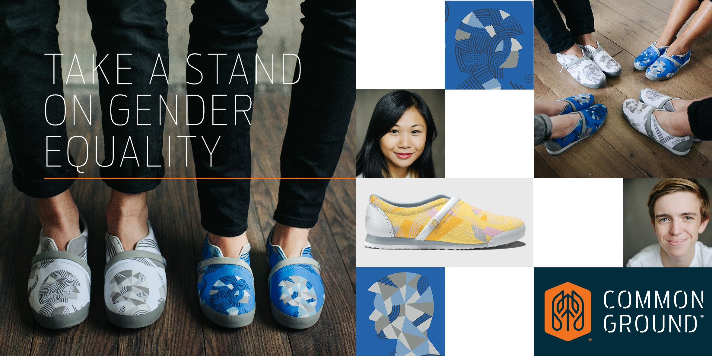 Common Ground Footwear | Gender Equality Collection | #StandForProgress