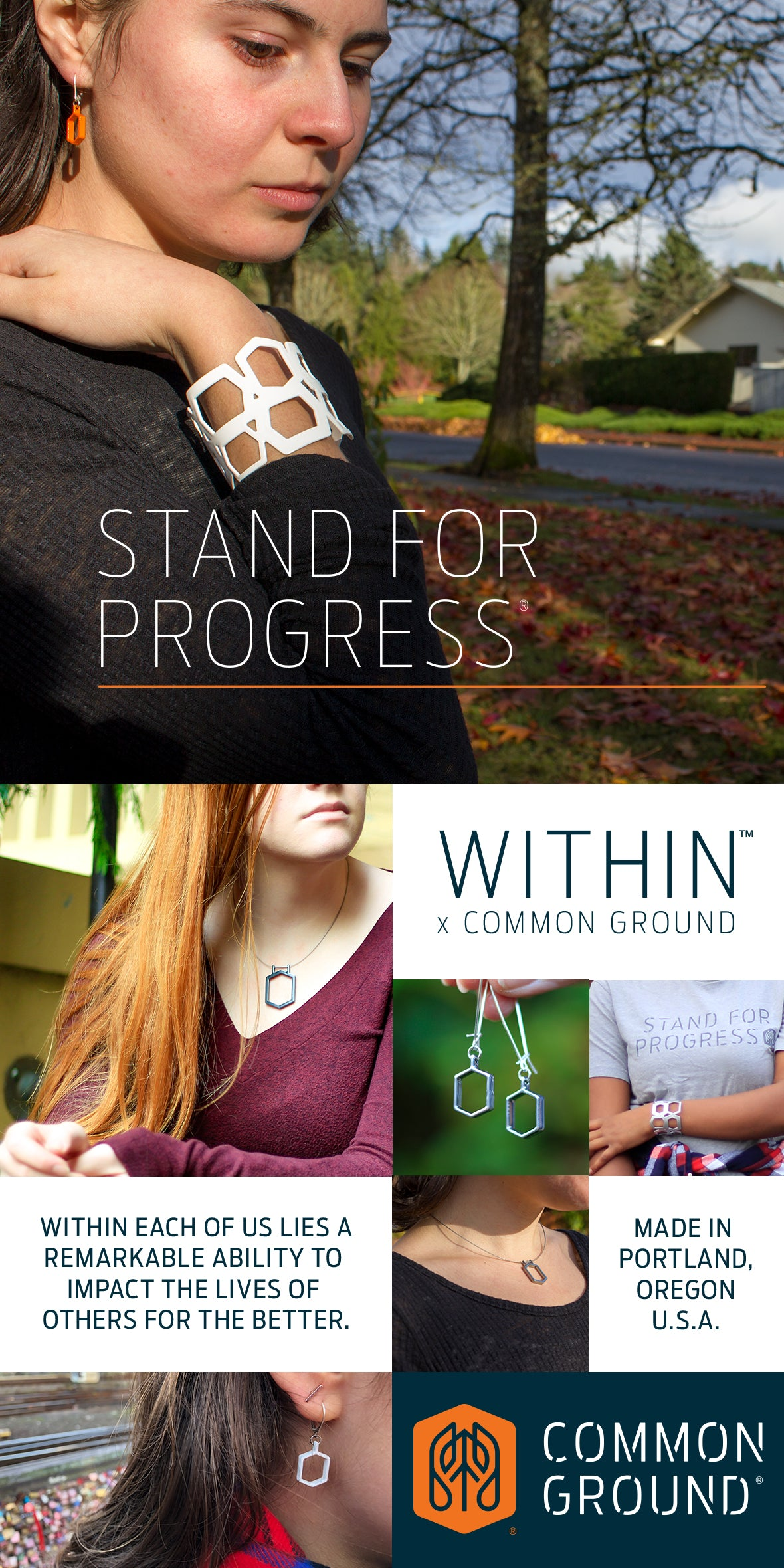 WITHIN x COMMON GROUND | JEWELRY TO INSPIRE EMPATHY AND CONVERSATION