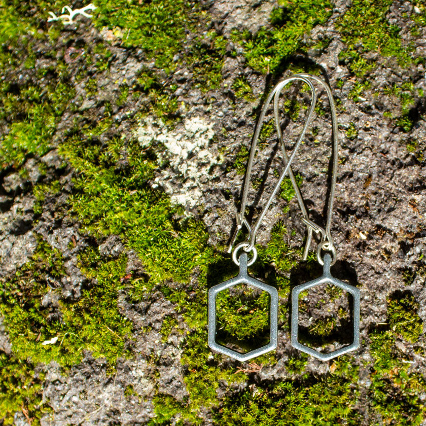 Common Ground Long Earrings Jewelry | Portland Oregon USA | Stand For Progress