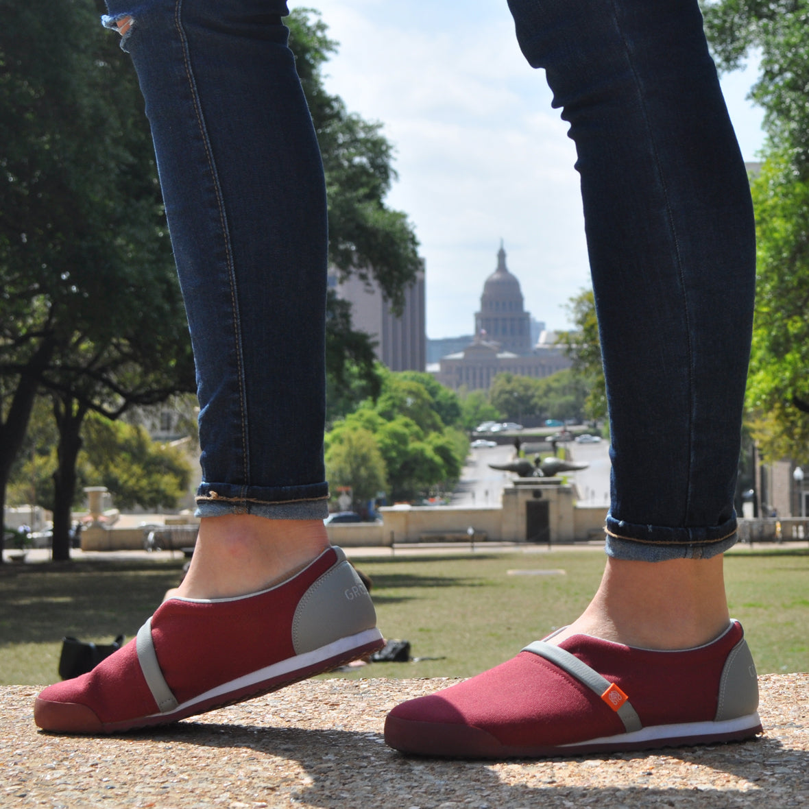 Stand for Progress in Common Ground Footwear | #StandForProgress