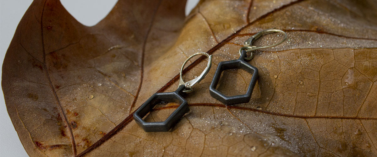 Common Ground Short Earring Jewelry | Portland Oregon USA | Stand For Progress
