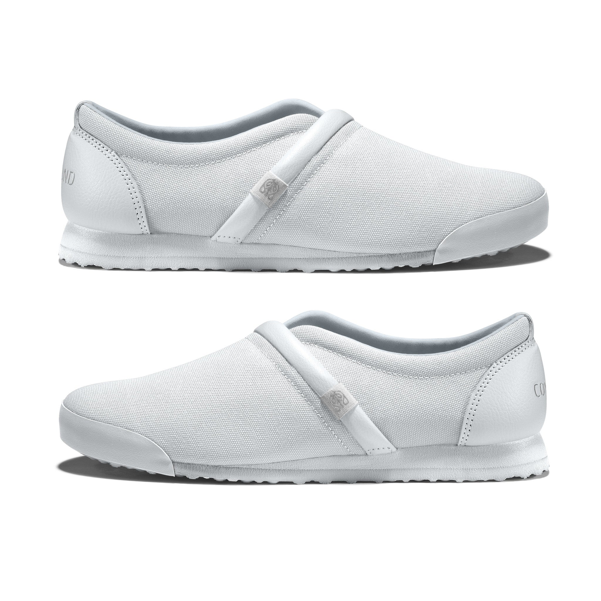 Bright_White - Common Ground Footwear Shoes Side View