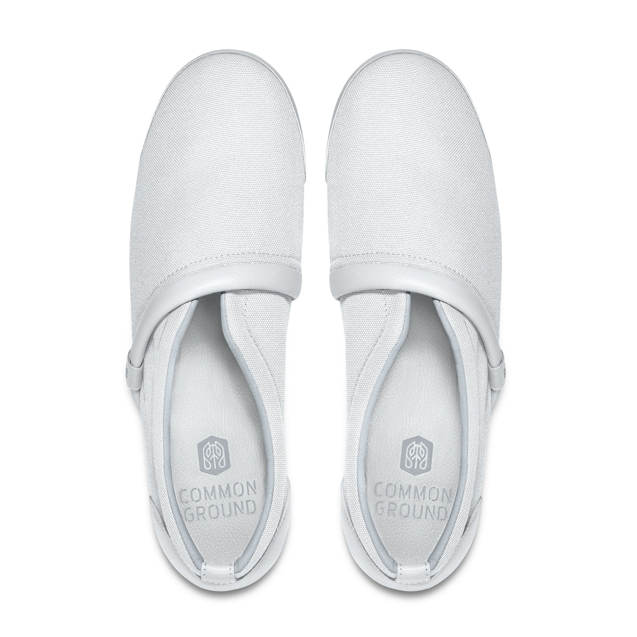 Bright_White - Common Ground Footwear Shoes Top View