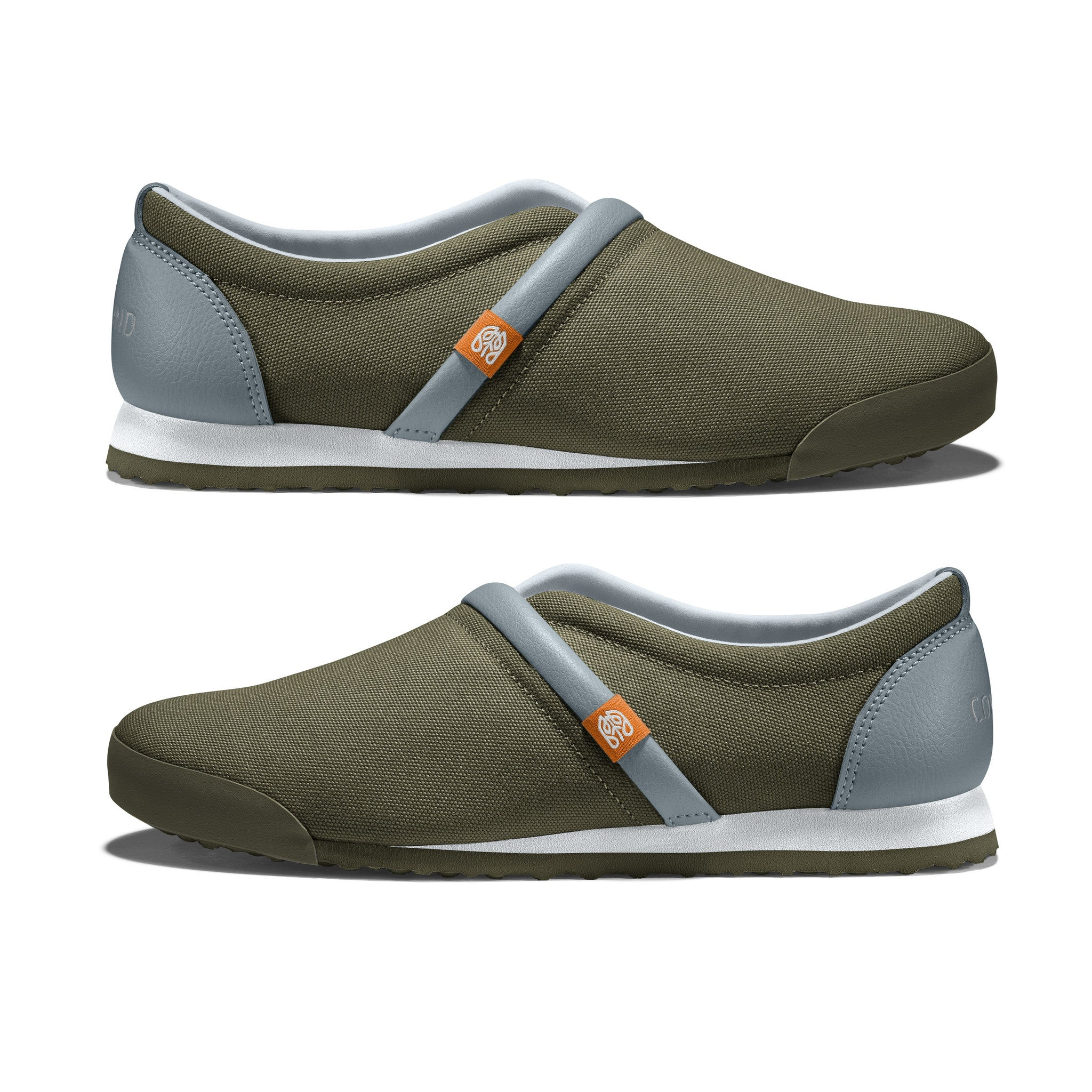 Military_Olive - Common Ground Footwear Shoes Side View