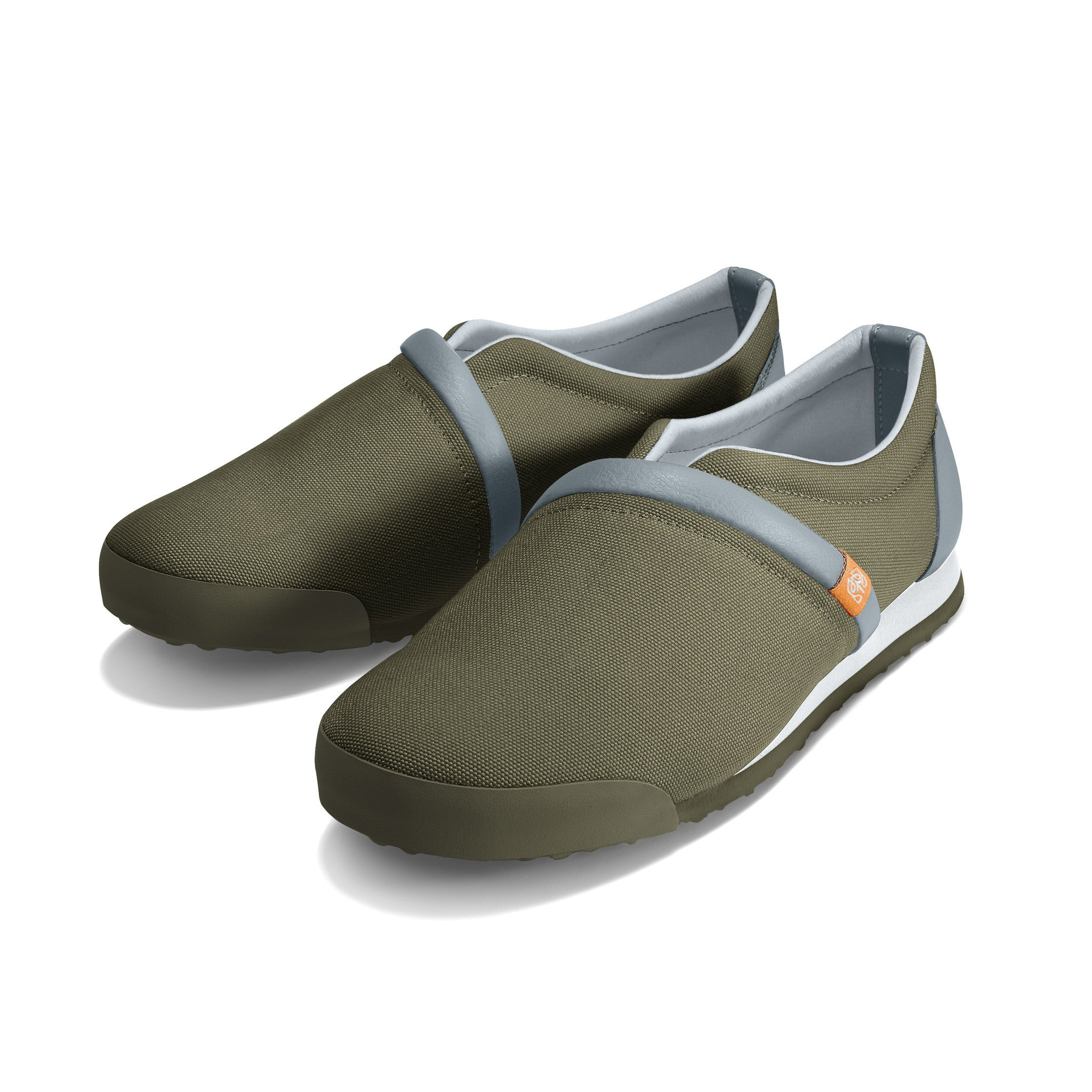 Military_Olive - Common Ground Footwear Shoes Left Perspective View