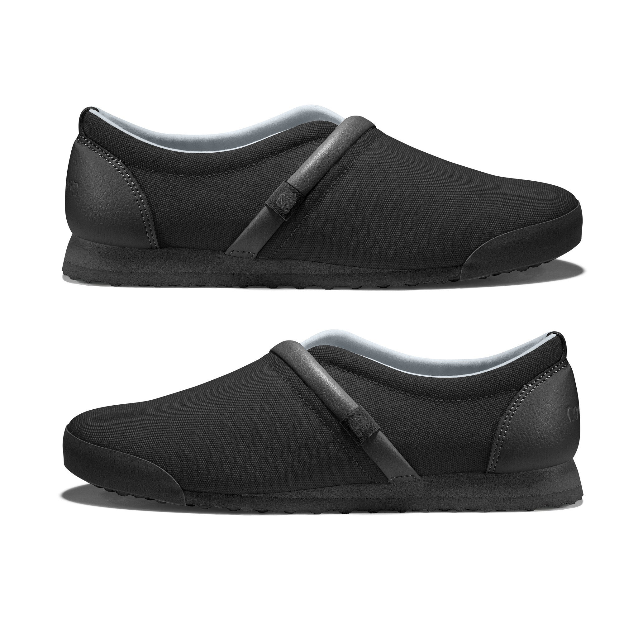 Jet_Black - Common Ground Footwear Shoes Side View