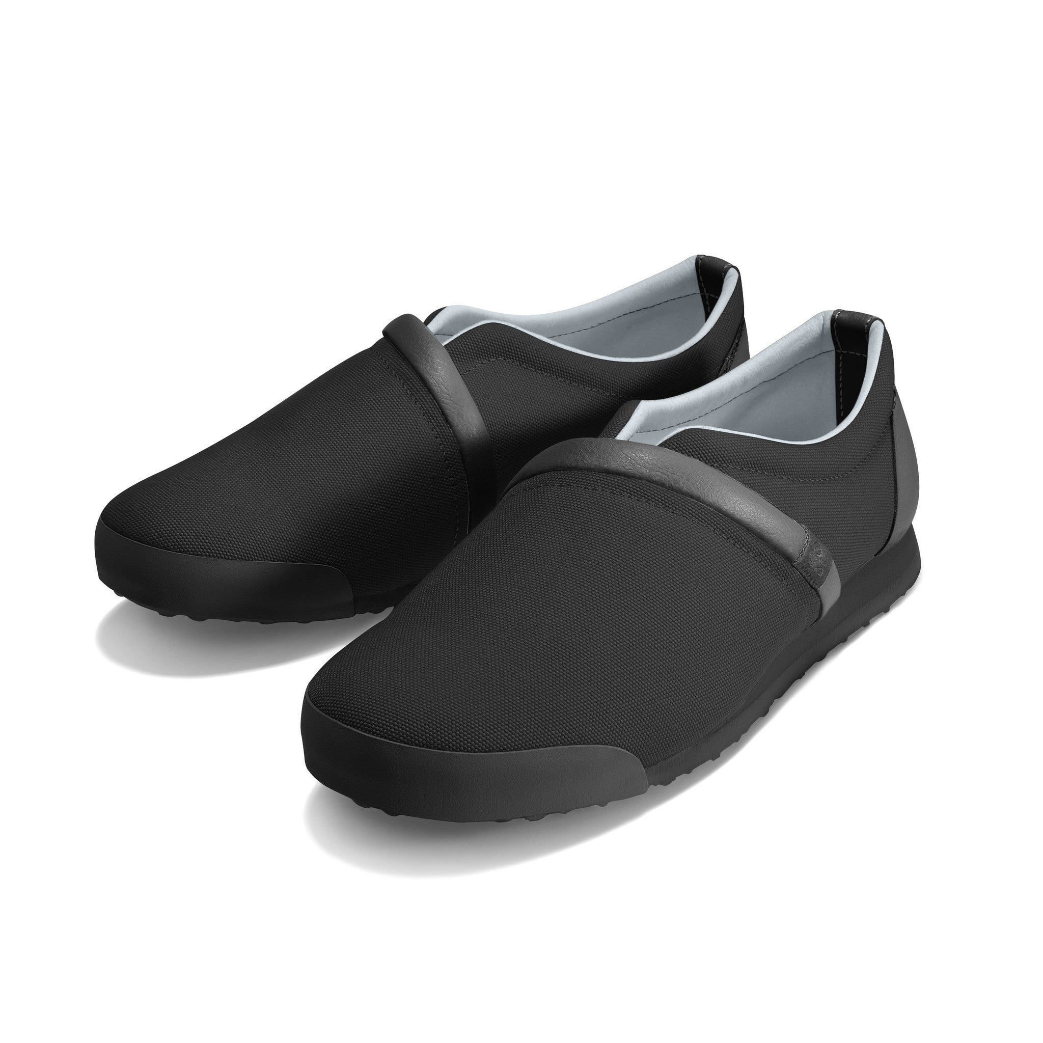 Jet_Black - Common Ground Footwear Shoes Left Perspective View