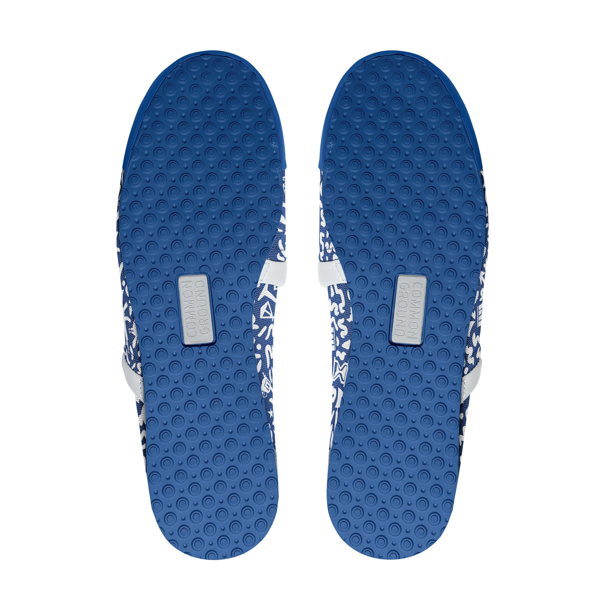 Strong_Blue - Common Ground Footwear Shoes Bottom View