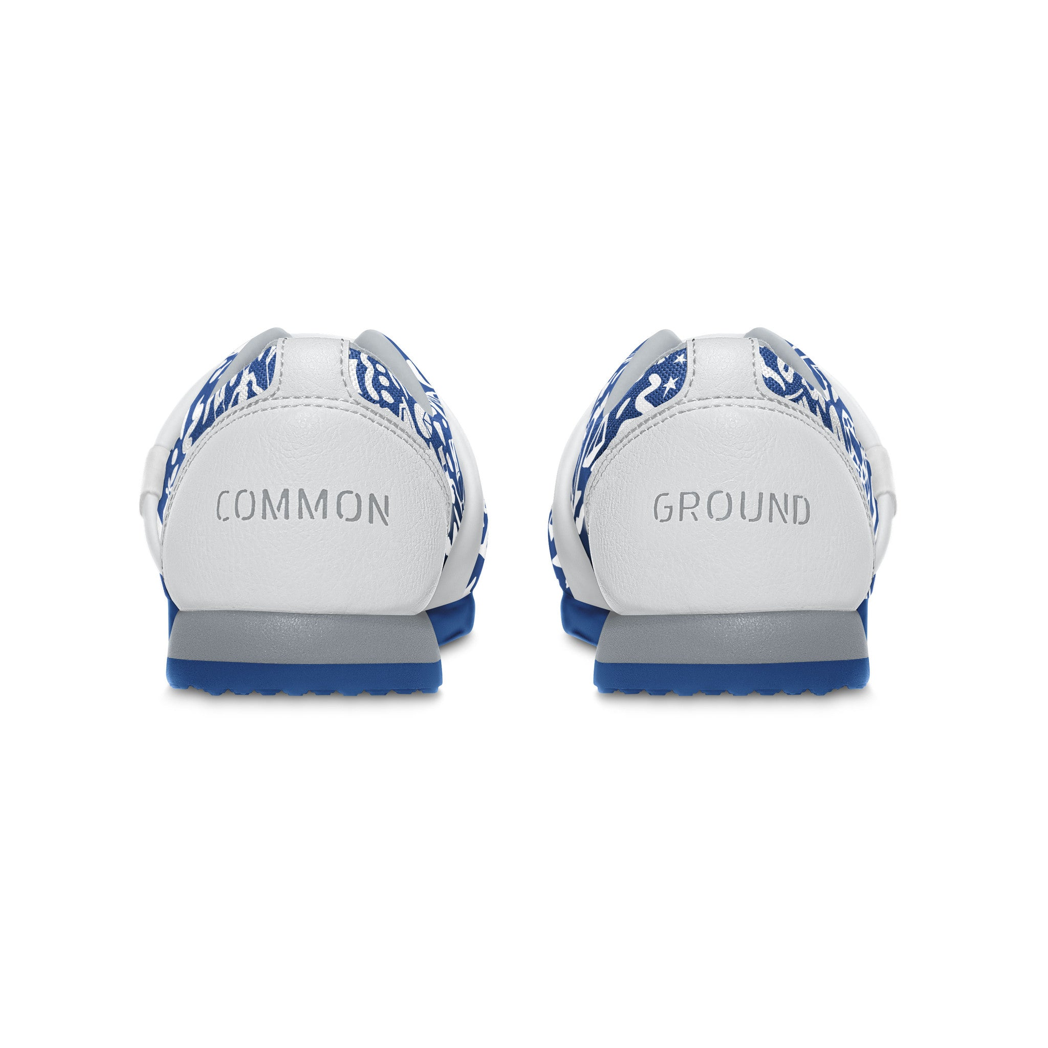 Strong_Blue - Common Ground Footwear Shoes Heel View