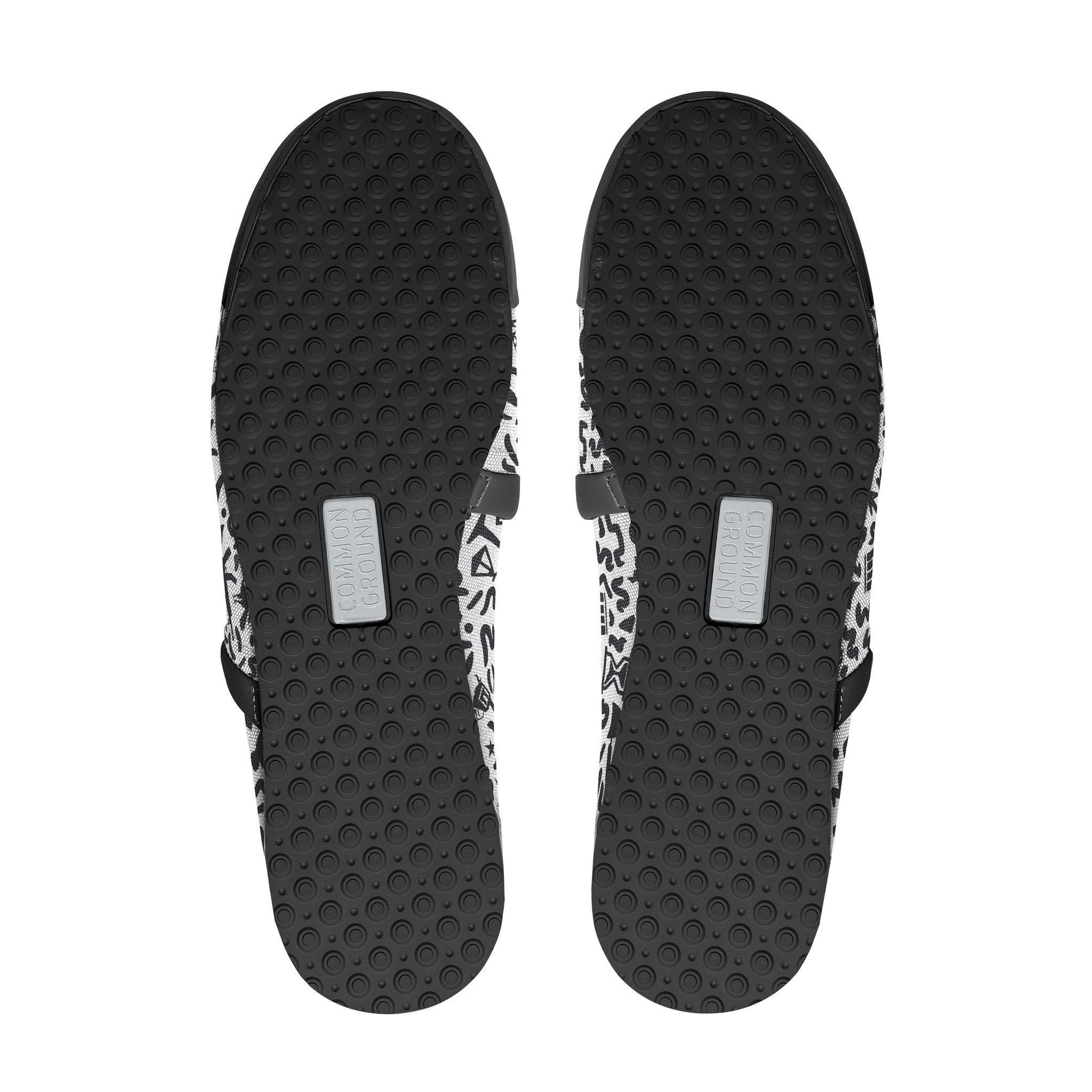 Jet_Black - Common Ground Footwear Shoes Bottom View